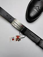 Ремень мужской кожаный Tommy Hilfiger (Original)