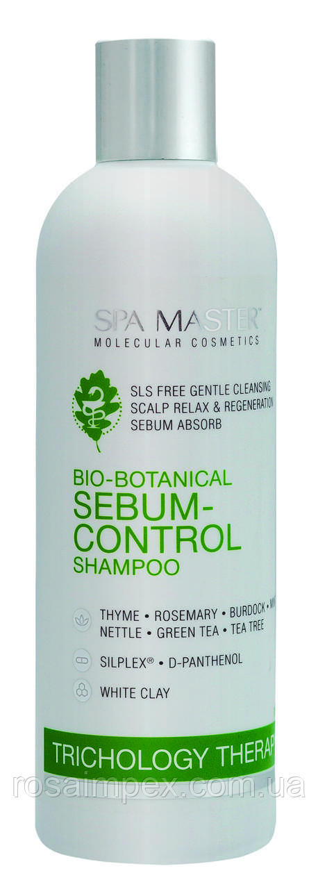 Шампунь проти жирності шкіри голови SEBUM-CONTROL SHAMPOO
