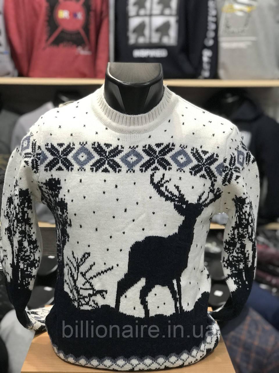 Новорічний светр з оленем 3