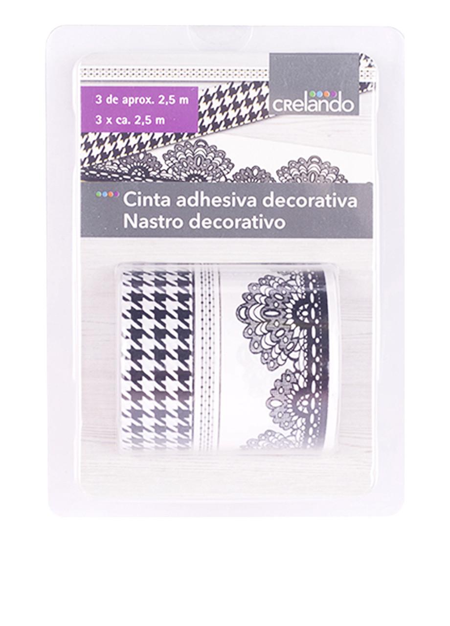 Лента-скотч декор Crelando 3 шт 2,5 м (222768)