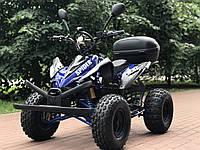 Электроквадроцикл CRAFTER SPIDER, съемный бокс, подсветка днища, мотор с планетарным редуктором 48V 1000W