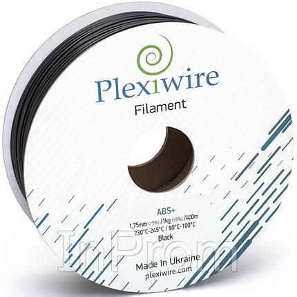 ABS+ пластик для 3D принтера 1.75мм черный (400м / 1кг), фото 2