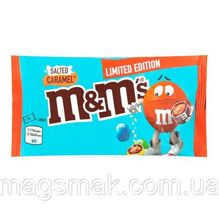 Драже M&M's с соленой карамелью 36г, фото 2