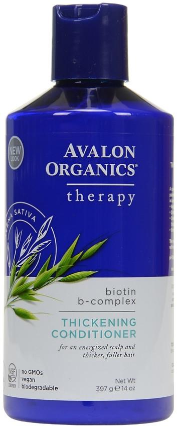 Кондиционер для густоты волос с биотином, Avalon Organics, 397грамм