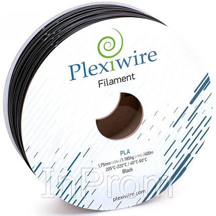 PLA пластик для 3D принтера 1.75мм черный (300м / 0.9кг), фото 2