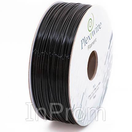PLA пластик для 3D принтера 1.75мм черный (400м / 1.185кг), фото 2