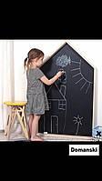 Доска для рисования мелом домик. Мольберт детский, игрушка. Детская меловая доска. 100х60см с рамкой