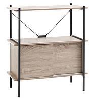 Дизайнерский шкафчик для дома и офиса, 2 полки, фото 1