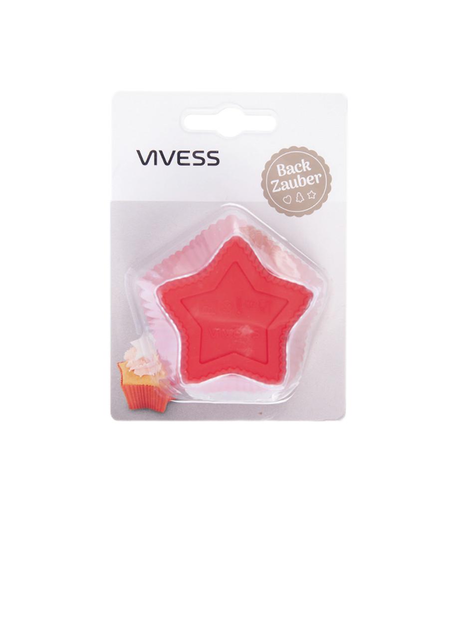 Набор силиконовых формочек Vivess 6 шт