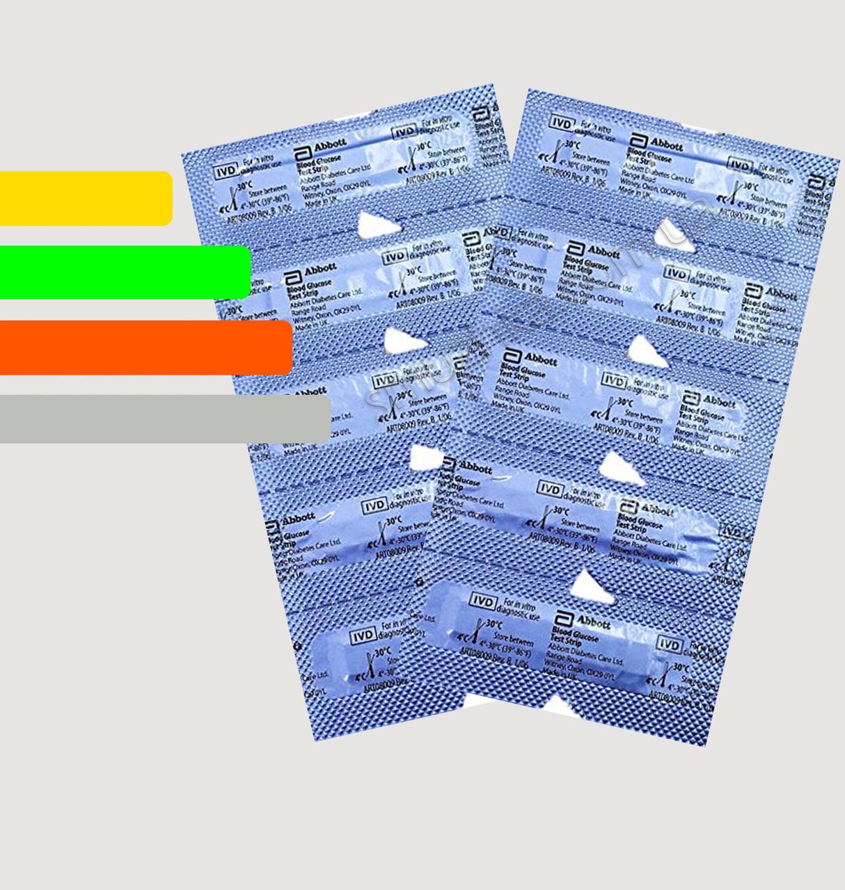 Тест полоски Freestyle Optium #10 -  Фристайл Оптиум (без бумажной упаковки)