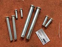 Палець - вісь сталева DIN 1444, ISO 2341
