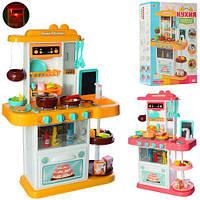 Кухня 889-151-152 высота 72см, плита,посуда,продук,льет воду,43пр,зв,св,2цв,бат,кор
