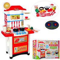 Кухня 889-3 высота 87 см, плита, посуда, продукты, звук, свет, на бат-ке, в кор-ке