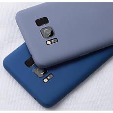 Силиконовый чехол SLIM на Huawei P Smart+ Plus Blue Cobalt, фото 2