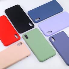Силиконовый чехол SLIM на Huawei P Smart+ Plus Blue Cobalt, фото 3