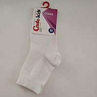 Детские хлопковые носки белые, р. 12-14 (12-18 мес)
