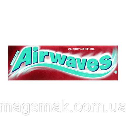 Жевательная резинка Airwaves Вишня Ментол, фото 2
