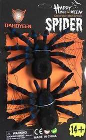 Павук оксамитовий на Хелловін, Паук декоративный бархатный на Хэллоуин