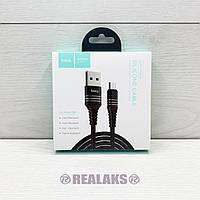 USB кабель Hoco U46 microUSB (Black)