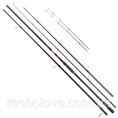 Фидер Brain Apex Double 4.5m carp rod: 5,0lb; feeder rod: up to 250g