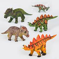 Динозавр музичний 88805 / Х017-Х019-Х045 (м'який, гумовий, 52см)