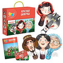 """Сказка-спектакль  """"Колобок. Теремок"""" VT 1804-09 (77773) (рус) """"Vladi Toys"""""""