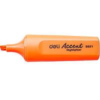 Маркер текстовый оранжевый 5мм скошенный
