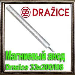 Магниевый анод Drazice 33х200/М8
