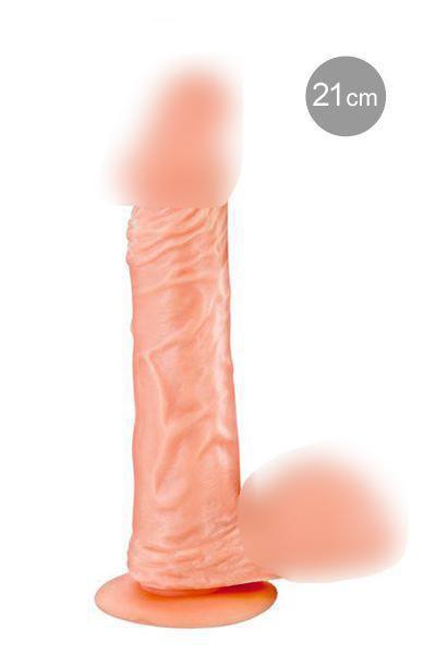 Фаллоимитатор Real Body - Real Jayson, TPE, диаметр 4см