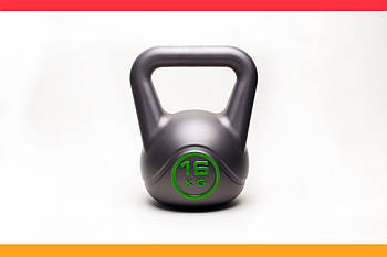 Гиря 16 кг PRO+ для Crossfit SPORT (Кроссфит)