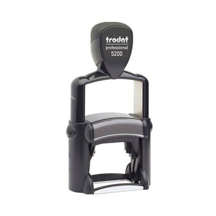 Оснастка Trodat 5200 металлическая для штампа 41x24 мм, фото 2