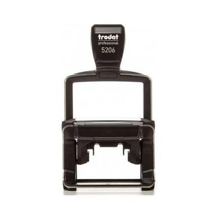 Оснастка Trodat 5206 металлическая для штампа 56x33 мм, фото 2