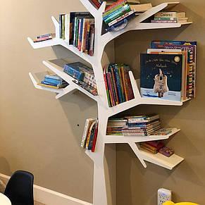 Полка МДФ для книг 170*120 см, фото 2