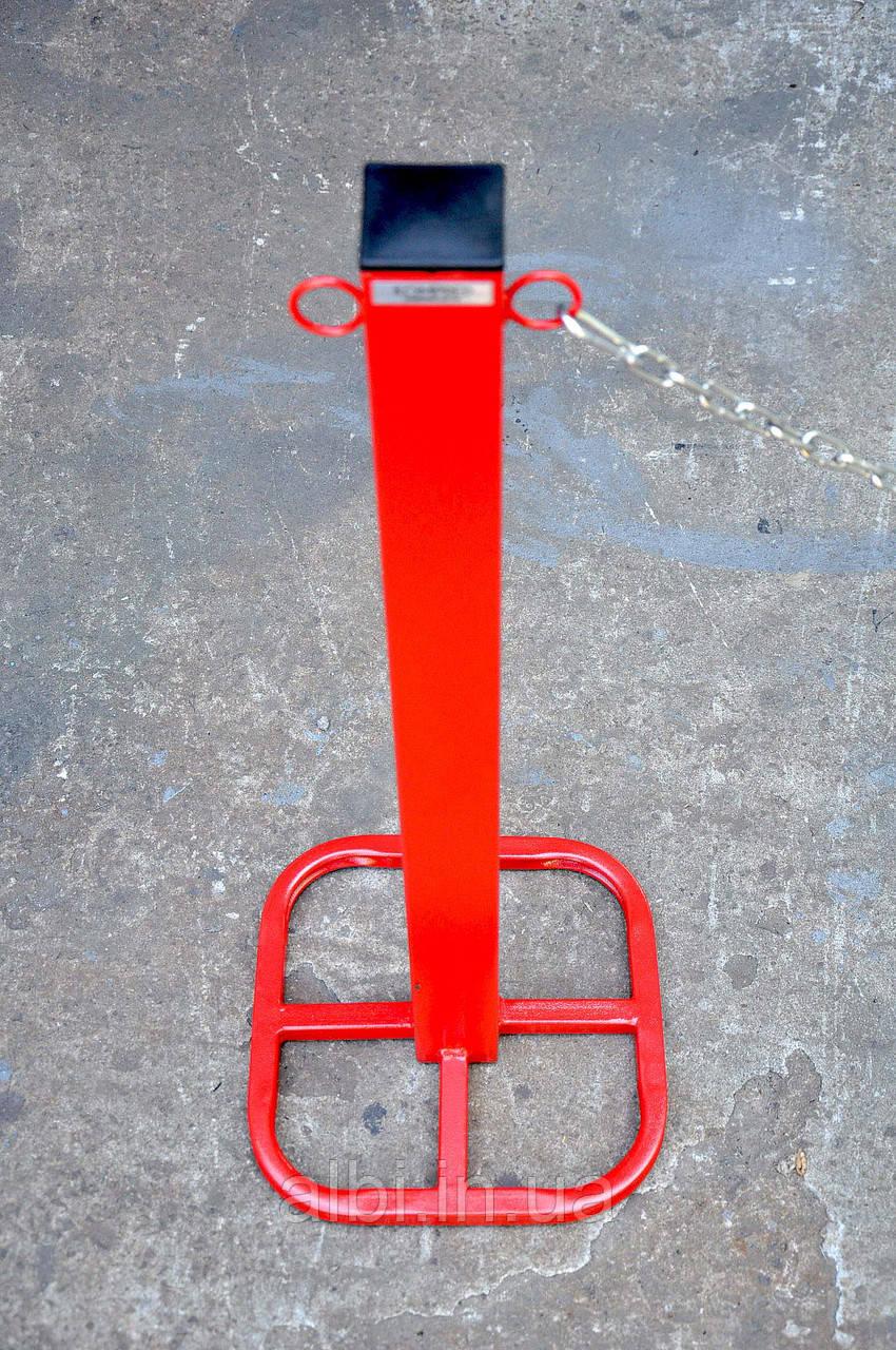 Столбик парковочный из трубы 60х60