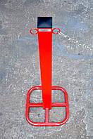 Столбик парковочный из трубы 60х60, фото 1