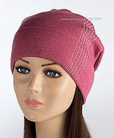 Вязаная шапка с защипом Диана фрез