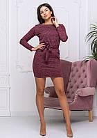 "Женское закрытое платье ""Holly"" | Батал"
