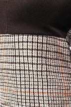 Теплое платье с рукавом 3/4 цвет серо-черный, фото 3
