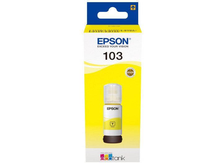 Чорнило Epson 103 (L3100/3101/3110/3150/3151) Yellow 65мл