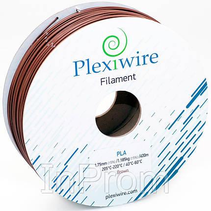 PLA пластик для 3D принтера 1.75мм коричневый (300м / 0.9кг), фото 2