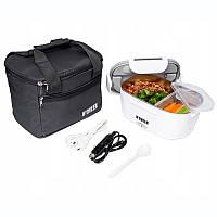 Контейнер для еды с подогревом от 230В и 12В с термосумкой Noveen LB410/420