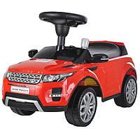 Машинка-каталка Range Rover  Alexis-Babymix Z-348B  цвет красный