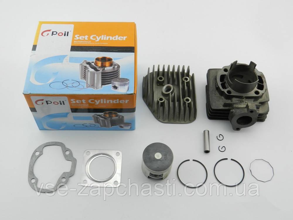Поршневая (ЦПГ) Suzuki Address/Sepia/ Mollet, 80cc, с головой, Gpoil (Завод SEE китай)