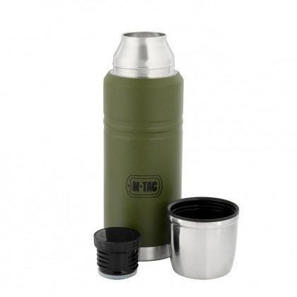 M-Tac термос 750 мл олива/нерж.