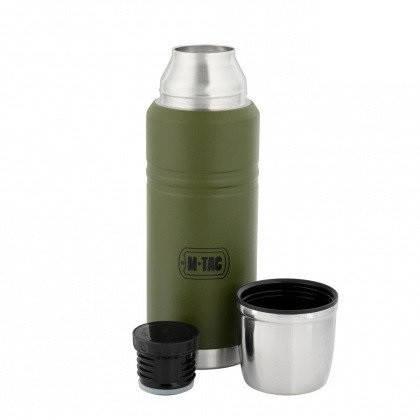 M-Tac термос 750 мл олива/нерж., фото 2
