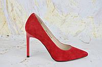Красные классические туфли на шпильке Lady Marcia