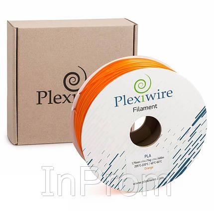 PLA пластик для 3D принтера 1.75мм оранжевый (300м / 0.9кг), фото 2