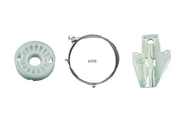 Ремкомплект стеклоподъемник Skoda Fabia MK1 задняя левая дверь (Шкода Фабия 1)