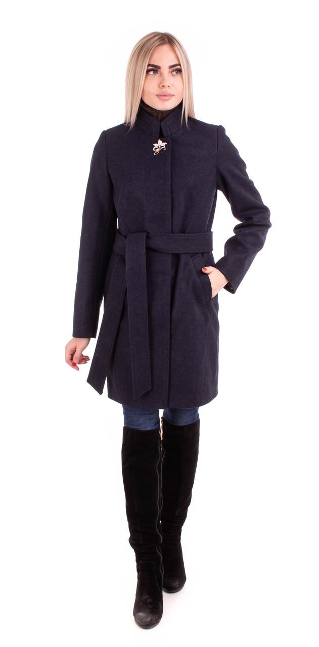 Женское демисезонное пальто модное  42-56 цвет 04