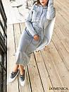 Кашемировое теплое длинное платье свободное 31plt149, фото 3